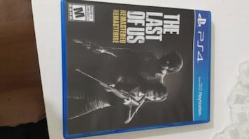 Games for ps4 The last of us .