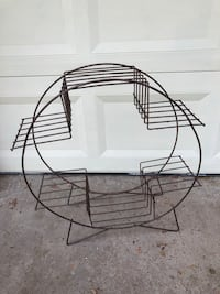 Wrought Iron Planter  Pearland