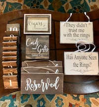 Planning a wedding? Wedding Decor, Signs, Candle Holders, Table Number