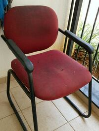 red and black rolling armchair Bengaluru, 560100
