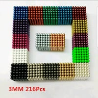 3mm 216pcs Magic Blocks Toy Puzzle Cube