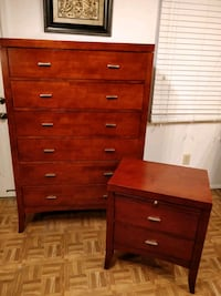 Like new set of big chest dresser with big drawers Annandale, 22003
