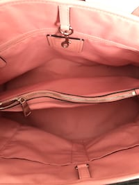 brown and pink Coach monogram leather crossbody bag Brighton, 80601