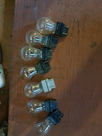 Three 3157 double filament bulbs.  Markham, L3S 1P7