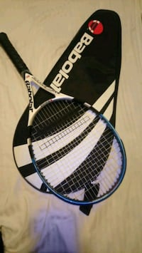 black and white tennis racket Vancouver, V5N 3X6
