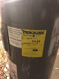 53 gallon Rheem Hot water heater