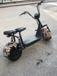 Elektrikli scooter city bike
