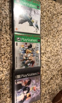 FF 7,8 and 9 on ps 1