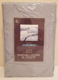 Life At Home Pintuck 200 Thread Count King Size (Delivered) Coquitlam