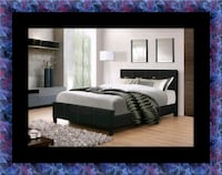 Full platform bed with box spring District Heights, 20747