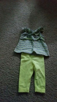 toddler's green and white pants Lafayette, 47909