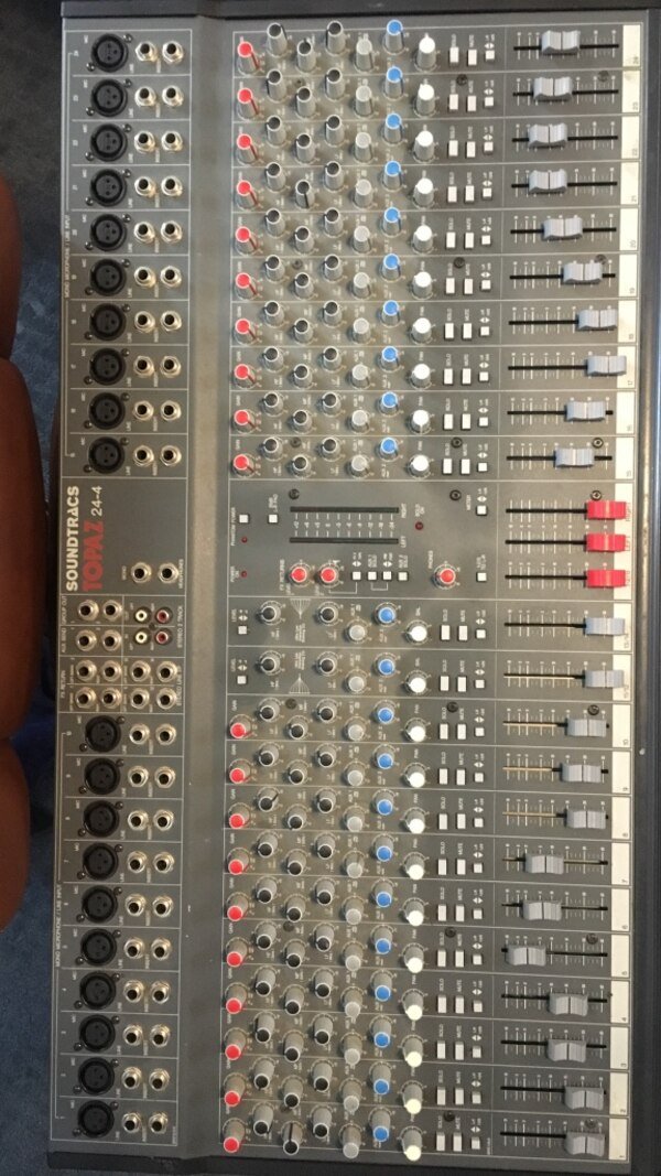 Soundtracs Topaz 24-4 Studio Mixer British Make