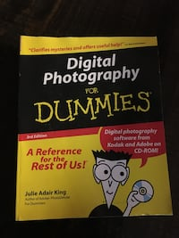 Digital Photography for Dummies book/DVD Deland, 32720