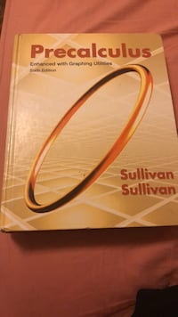 Precalc Textbook sullivan 6th edition Annandale, 22003