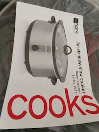 Brand new slow cooker - $50