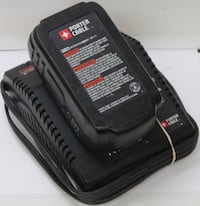 Porter Cable Charger + Battery 889 mi