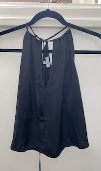 TOBI Black Backless Going Out Top in Size Small Toronto, M9A 4A4