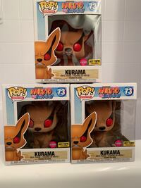 "FLOCKED HOT TOPIC EXCLUSIVE 6"" KURAMA FUNKO POP Annandale, 22003"