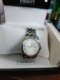 Men's Tissot Watch with white face