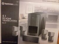black and gray home theater system box Albuquerque, 87107