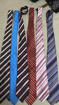 DKNY and GEOFFREY BEENE brand.. 30$ for 6 tie Markham, L3T 1K7