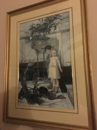 Collectible framed picture will brighten any. Wall Bellmore, 11710