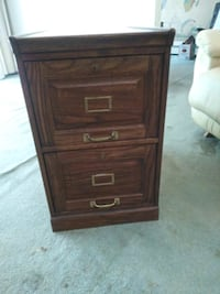 Two drawer Oak file cabinet Capitol Heights, 20743