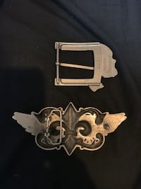 Belt buckles one I actually bought at Buckle 877 mi