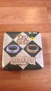 The Lord of the Rings Checkers set with tin. Johnson City, 37601