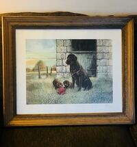 """24""""x18"""" Framed Labrador Wall Hanging Willoughby Hills, 44092"""