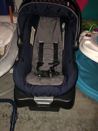 Eddie Bauer Travel set. Have stroller as well... one year old expires 2021..  Whitsett