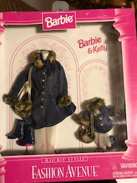 Old Fashion Avenue Barbie and Kelly Fadhions Mount Airy, 21771