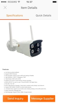 CTVISION brand new outdoor wireless IP Wi-Ficamera Mississauga, L5V 1N5