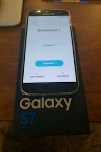 black Samsung Galaxy S7 with box Laval, H7P 1J8