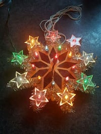 """Christmas light up  Decor.  D- 8"""" in(20 cm). Clean & smoke free home  London, N6C 4W2"""