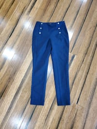 Forever 21 navy ankle pants size XS