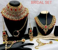 gold and black beaded necklace Ahmedabad, 380006