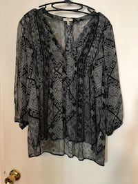 Joie print blouse bought at Bloomingdales 275. Size M