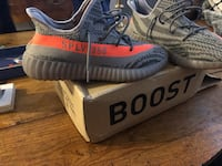 Pair of gray adidas yeezy boost 350 v2 Charlotte, 28204