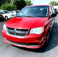 2013 Dodge Grand Caravan●RED●3RD ROW●BEAUTIFUL● Lincoln Park