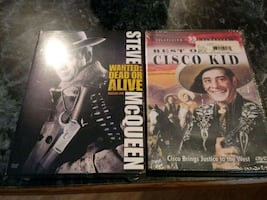 UNOPENED SEALED DVD classic TV Westerns