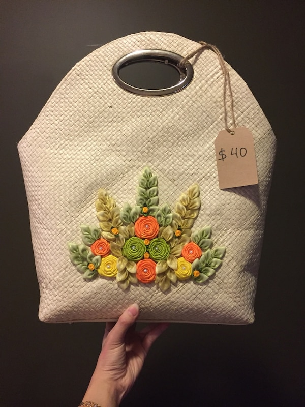 127d2eb679 Used Pandan leaf handbag for sale in Calgary - letgo