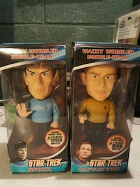 Star trek bobble heads New Freedom, 17349