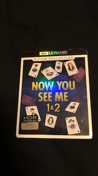 Now You See Me 1 & 2 movie case Gulf Shores, 36542