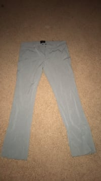 gray straight-cut jeans 49 km