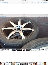 Is three sets of tires and rams 250 for all three Los Angeles
