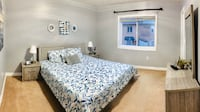 King bed with matress, dressor with mirror, 2 night stands Brampton, L7A 5A7
