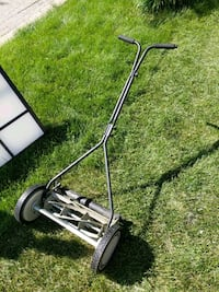 black and gray reel mower Hoffman Estates, 60169