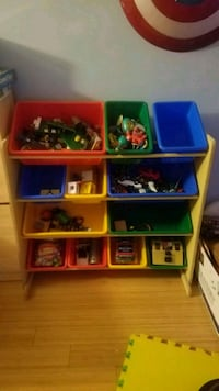 plastic toy organizer New York, 10029