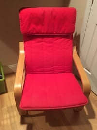 Red ikea armchair Bethesda, 20814